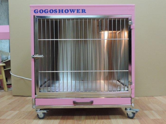 【GOGOSHOWER狗狗笑了】專業級_隔離籠(附門框壓克力板)中型MIT_需預購