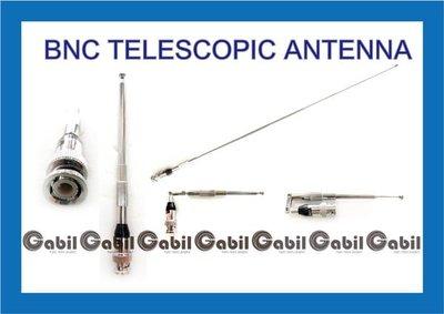 【中區無線電 對講機】BNC 接頭 單頻 VHF 可折伸縮天線 C-150 S-145 RL-102 C-450 RL-502