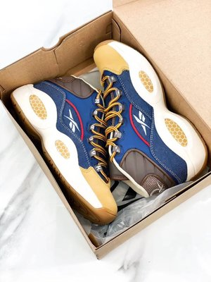 "【H-SHOP】Reebok Question ""Jet Lift"" 高筒皮面籃球鞋*EU40~45。S91103"