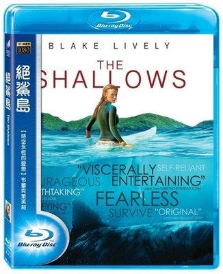 (全新未拆封)絕鯊島 The Shallows 藍光BD(得利公司貨)限量特價