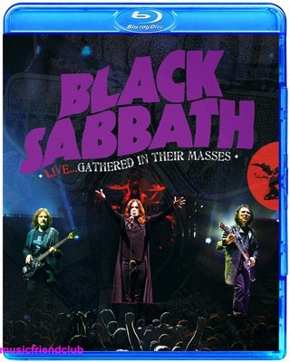 Black Sabbath Live Gathered In Their Masses Deluxe 藍光BD50@XI31227