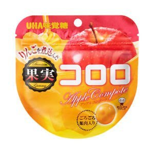UHA 味覺糖 酷露露Q糖 糖漬蘋果味 日本進口零食 JUST GIRL