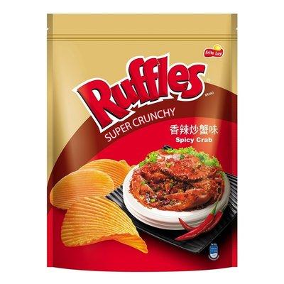 卓佑小舖♥Ruffles 大包裝 香辣炒蟹味 580g 好市多 COSTCO洋芋片 樂事波樂