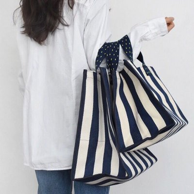 環保購物包帆布材質大小手提方包