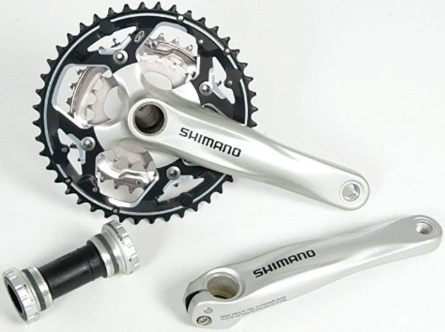 ~~ 疾風單車 SHIMANO FC~M542 登山車一體式CNC鋁合金大盤 44 32