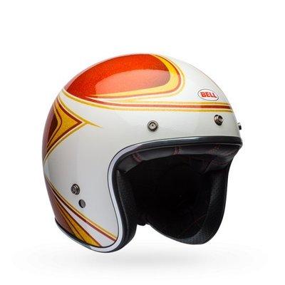 台中皇欣!!正美國 BELL 出品復古哈雷~偉士牌半罩3/4復古帽 Custom 500 Copperhead!免運費!