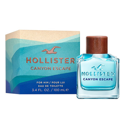 ☆MOMO小屋☆ Hollister CANYON ESCAPE 自由曠野 男性淡香水 100ml