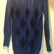 菱格長版針織洋裝