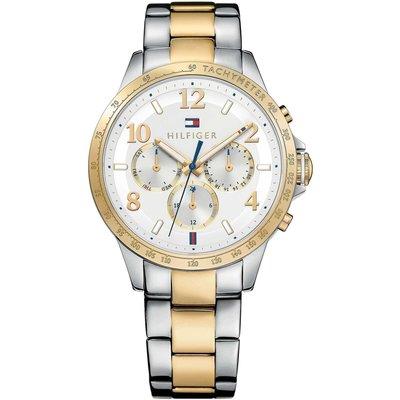 TOMMY HILFIGER 1781644 手錶 38mm 鋼錶帶 三眼 女錶