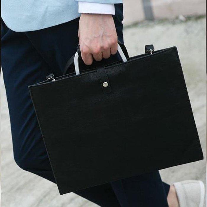 韓版男包英倫復古包男士女士手袋Ipad公文包手提單肩文件包商務包