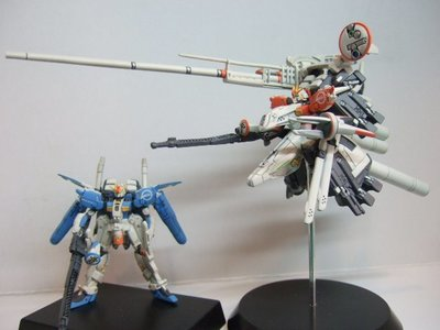 303E plan Ex-S 上色品1/400 GUNDAM COLLECTION