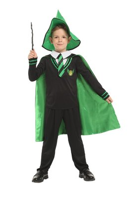 乂世界派對乂萬聖節服裝,萬聖節服飾,變裝派對,兒童變裝服 /兒童魔法師服裝/神奇小法師