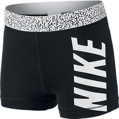 "NIKE PRO BASH 3"" SHORT緊身短褲640956-010黑色白字*尺寸詢問*"