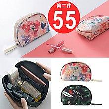 印花 花叢 韓版 多功能大容量 加厚款 收納包 化妝包 筆袋 文具 零錢包 手機包 錢包【RB444】