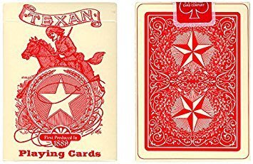 【USPCC 撲克】Texan Playing Cards Deck 1889 (Limited Quantity)
