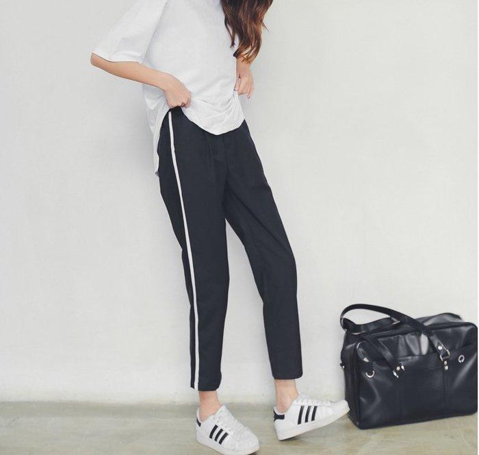SeyeS fruits街頭個性簡約運動風西裝褲