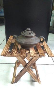 黑紫砂壺(收藏品)