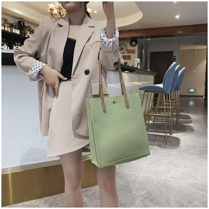 FINDSENSE X 韓國 女士 時尚簡約 素面 斜挎包 百搭 單肩包 扁包 子母包
