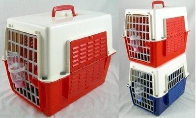 *優比寵物*NEW新款皇冠雙色窗型NO.639-w運輸籠/提籠/手提籠/寵物籠/外出籠<優惠價>臺灣製造-