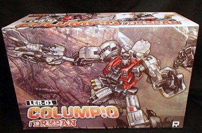 全新 Transformers 變形金剛 第三方 Fansproject LER-01 Columpio 長頸龍