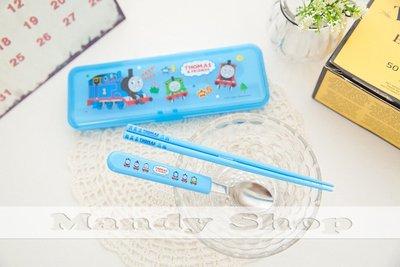 mandyshop~TM~006~ 製㊣ 三麗鷗 Sanrio 湯瑪士兒童餐具 筷子 湯匙