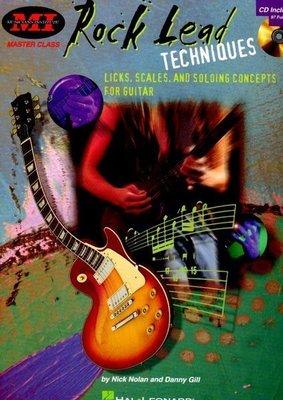 [ 反拍樂器 ] MI系列進口書籍 Rock Lead Techniques 吉他教材 (免運費)