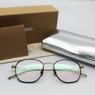 [恆源眼鏡] VEDI VERO VO 8009 BLK β鈦金屬光學方框眼鏡 新北市