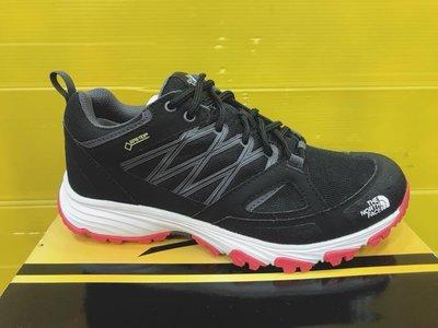 The North Face北面 女款 登山鞋 抓地 防水 徒步鞋 NF0A2YBE5VF 黑紅 現貨