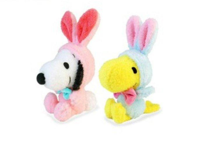 天使熊雜貨小舖~日本帶回snoopy史努比兔兔造型復活節 限定 現貨: 史奴比/糊塗塔克2款  全新現貨