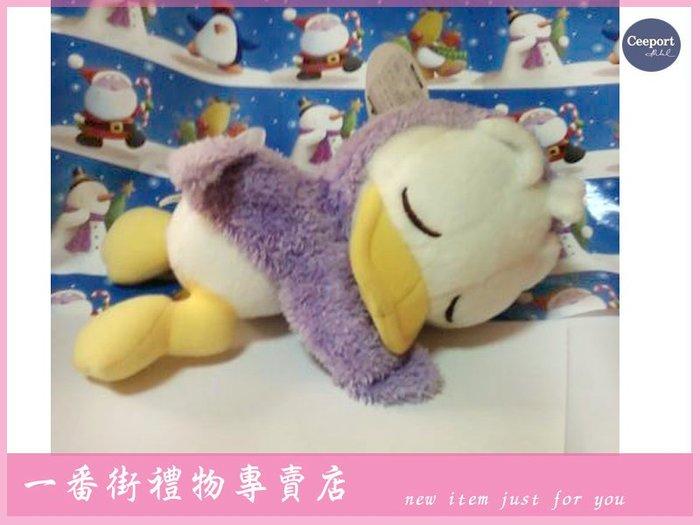 一番街禮物專賣店☆日本帶回☆唐老鴨Baby娃兒趴趴睡著了~單件價~最佳禮物^^