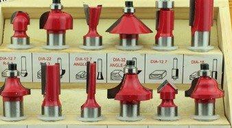 黑手五金 12支木工修邊刀組 大柄徑 12.7mm 另有木工修邊機 木工刨邊機 木工雕刻機 專用 修邊刀 12.7MM
