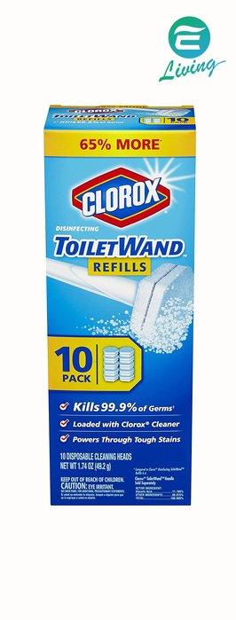 【易油網】【售完】CLOROX 可換頭馬桶刷 神奇棒 ToiletWAND 含6個清潔頭 29.5g BREF