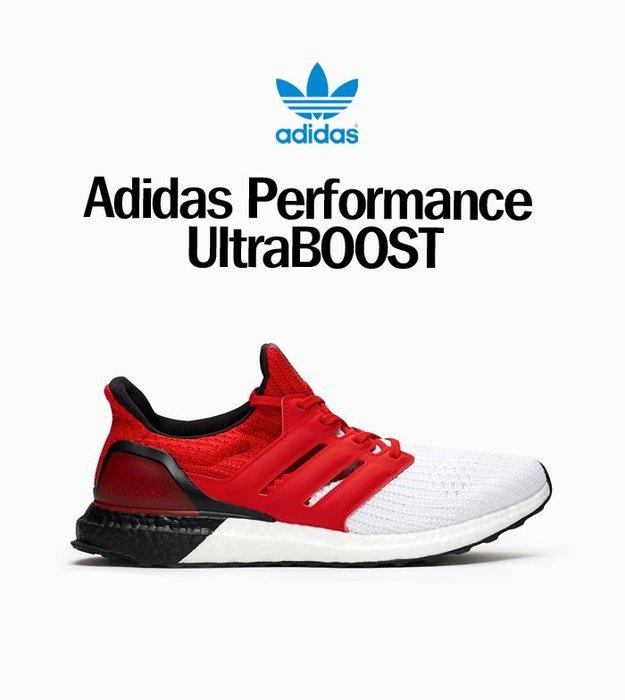 南 2019 11月 Adidas UltraBoost 男鞋 紅色 白色 黑色 拼接 全新公司貨 G28999