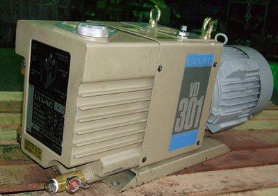 日本優貝克ULVAC VD301 2HP油式真空幫浦/真空機/脫泡機/抽冷媒可用(外匯品狀況超優)