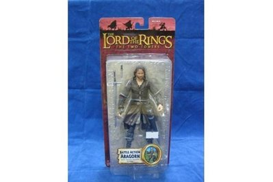 TOY BIZ 魔戒 亞拉岡 LORD OF THE RINGS BATTLE ACTION ARAGORN WITH SWORD (LOTR-81568)