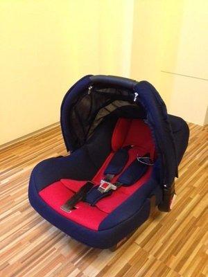 【彩蘋果】台灣製 shy baby 提籃式 三用 汽車座椅 可當搖籃 小寶寶 外出用!!!紅色