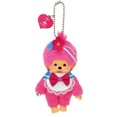 41+現貨免運費 日本正版 進口 Monchhich 夢奇奇 蒙芝芝 二選一 公仔 娃娃玩偶 吊飾 小日尼三