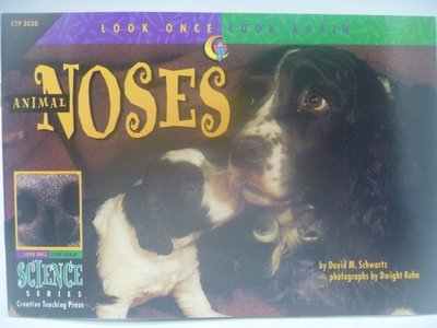 月界】Animal Noses-Look Once,Look Again Science Series〖少年童書〗CER