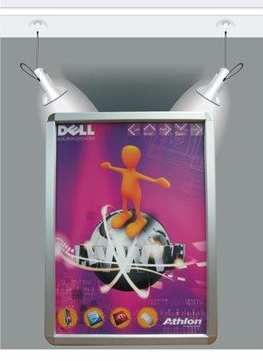 ~廣告舖~  鋁製可更換式海報框(A3:36 x 48 x 1.8cm)