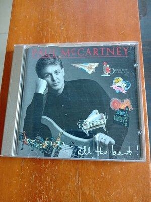 PAUL MCCARTNEY 保羅麥卡尼 ALL THE BEST 精選輯 英國版CD