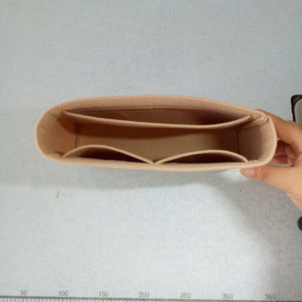 創意 便攜 大容量適用于古馳marmont內膽包迷你小中大號包中包收納包包中包化妝包