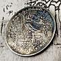 雕刻硬幣美國流浪者硬幣 1921侏羅紀骷髏紀念幣恐龍浮雕復古幣iqpg617