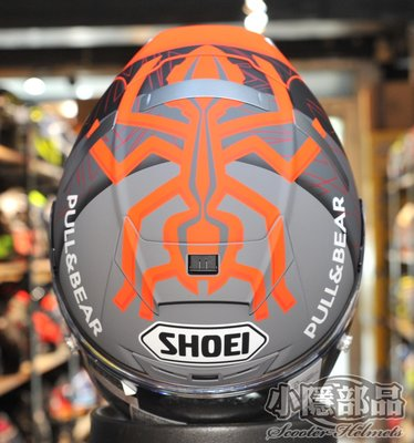 【小隱部品】預購 Shoei X-14  Marquez X-Fourteen MM93 BLACK CONCEPT 2
