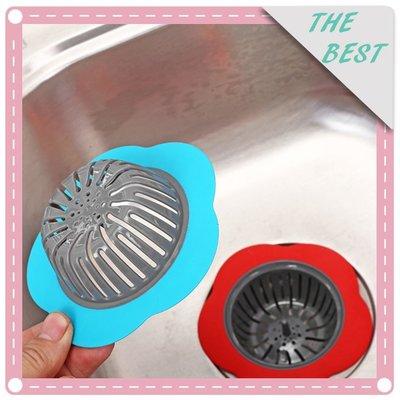~昀美創意生活館~花朵造型創意水槽過濾器 廚房洗手檯防堵塞過濾網 台中市