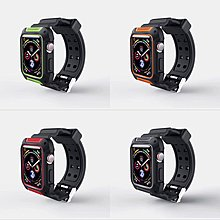 AppleWatch 運動錶殻連錶帶 1秒變G-Shock for 44/40MM series 4