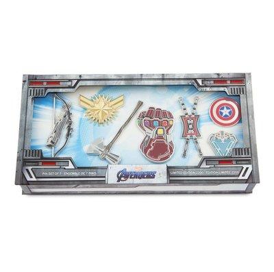 (全球限量)Marvel Avengers Endgame limited 7 Pin Set 終局之戰超限量襟章珍藏套裝