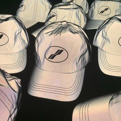 Well done 明星同款 3M特殊反光塗層面料 可調設計反光帽 棒球帽