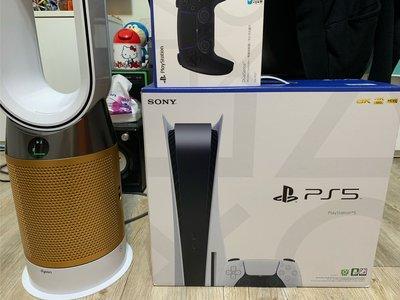 全新現貨 Sony Ps5 光碟版+4片光碟 台灣公司貨保固一年