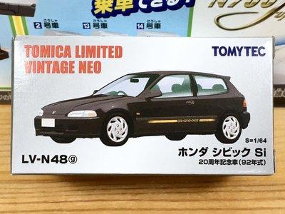 TOMYTEC LV-N48g Honda CIVIC Si 20周年記念車 (92年式)