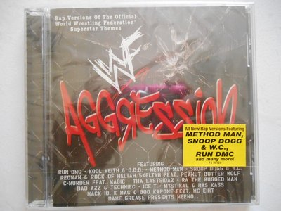 WWF Aggression 摔角巨星出場主題曲 饒舌版 進口美版